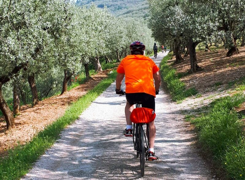 riding in the umbrian countryside